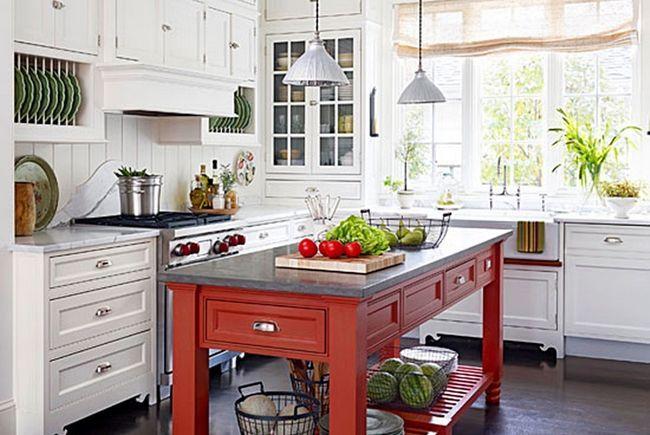 10 Ідей для дизайну інтер'єру кухні: фотогалерея
