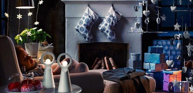 23 Ідеї для новорічного оформлення інтер'єру маленької квартири