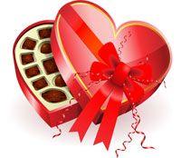 Американці дарують один одному шоколадні цукерки в коробках сердечком