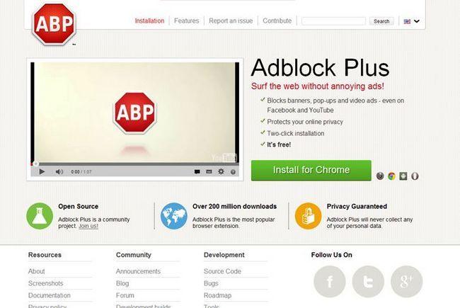 Де завантажити додаток adblock
