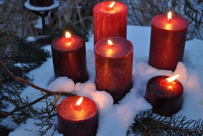 Як декорувати свічку своїми руками