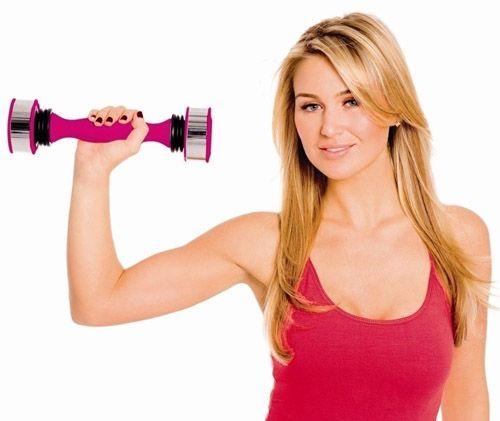 Як схуднути в області плечей і спини