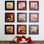 Як повісити картину на стіну