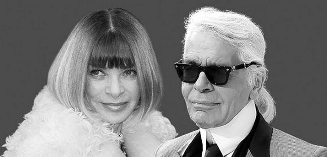 Карл Лагерфельд і Анна Вінтур призначили дві значущі модних події на один день