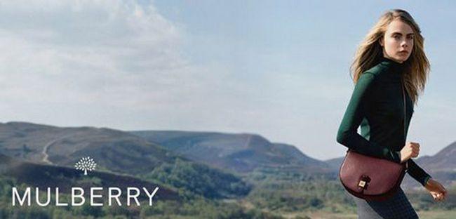 Колекція аксесуарів Кари Делевінь для Mulberry