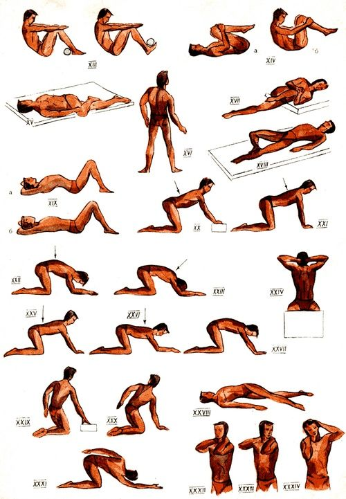 Комплекс вправ для лікування сколіозу