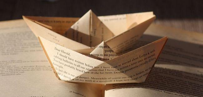 Кораблик з паперу своїми руками, схема