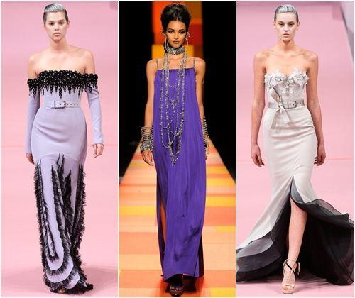 Красиві довгі сукні на випускний вечір 2013