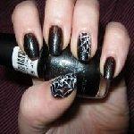 Манікюр: малюнки на нігтях за допомогою голки