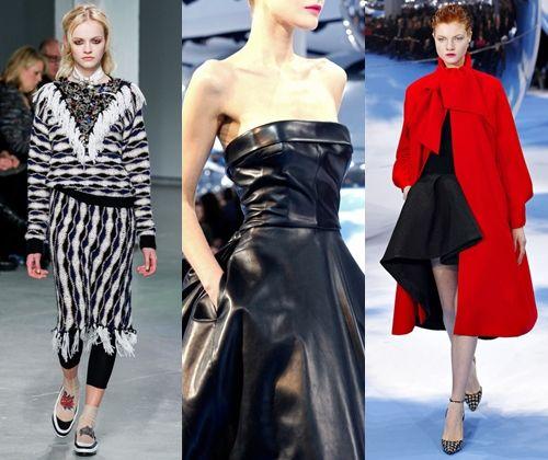 Модний одяг зима 2013 2014: фото модних стилів і силуетів одягу 2014