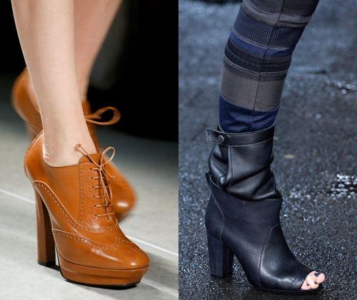 Модне жіноче взуття осінь зима +2014: фото наймоднішою зимового взуття 2 014 року