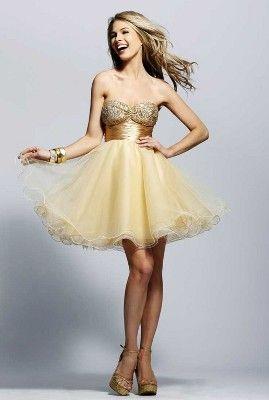Модні сукні на випускний 2011