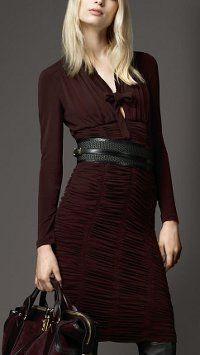 Модні сукні осінь 2012
