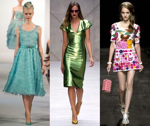 Модні сукні весна-літо 2013