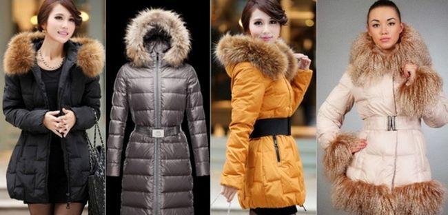 Модні пуховики, зима 2015-2016 - модні тенденції, фото моделей