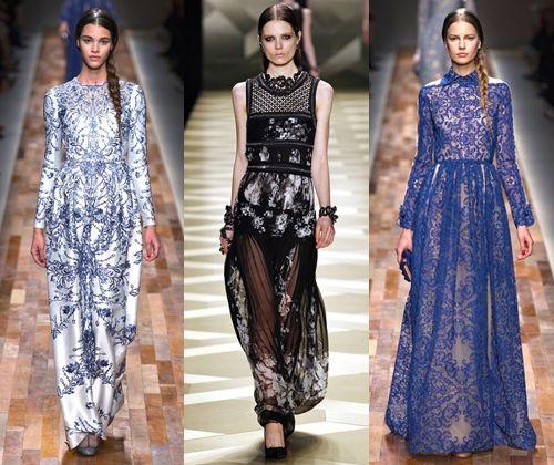 Модні вечірні сукні зима 2014: фото модних довгих і коротких вечірніх суконь