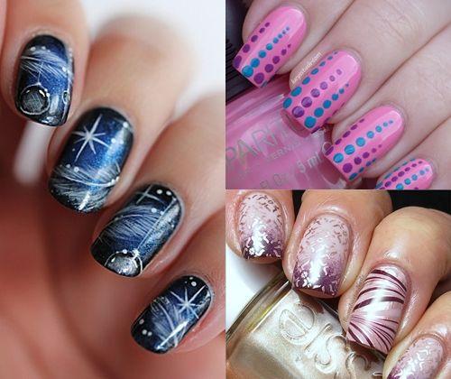 Модний дизайн нігтів зима 2014