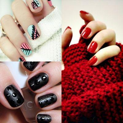 Модний манікюр зима 2013