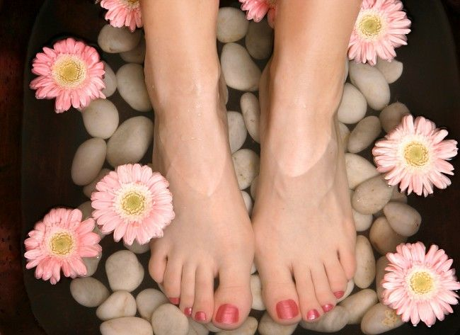 Народні засоби від пітливості ніг
