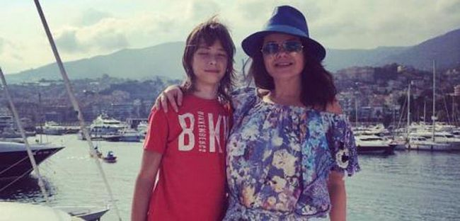 Наташа Корольова розважається в Монако