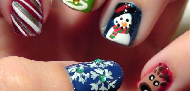 Новорічний манікюр: самі модний дизайн нігтів до Нового року 2 015