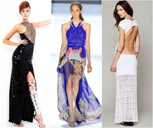 Відкриті сукні для випускного вечора 2013