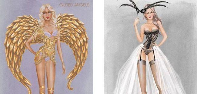 Презентовано ескізи нарядів для Victoria's Secret Fashion Show