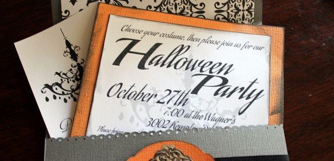 Запрошення на хеллоуїн 2015