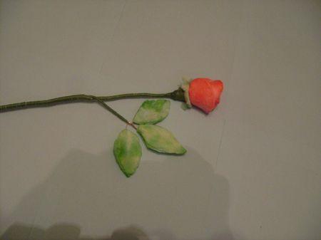 Подарунок мамі квіти з ватних дисків