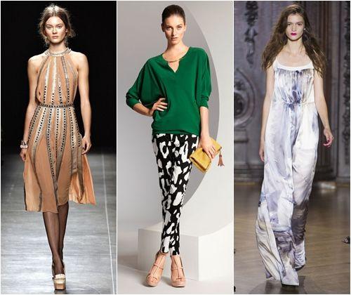 Модні силуети весна-літо 2013