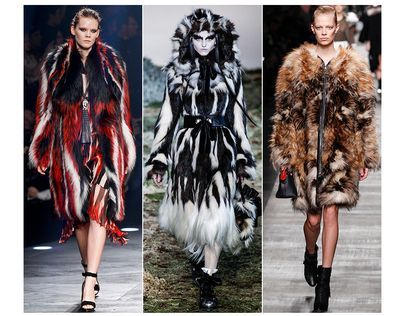 Модний одяг 2014-2015 шуби і кожушки