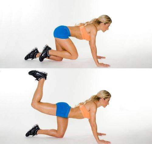 Вправи для стегон і сідниць: зменшуємо обсяги і боремося з целюлітом