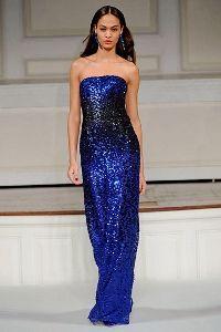 Вечірні модні сукні 2012