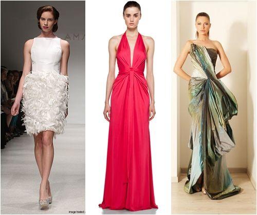 Вечірні сукні на випускний 2013